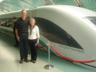 High Speed Train in Shanghi